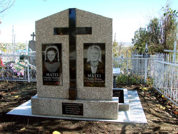 Надгробие молдова Лампадка из лезниковского гранита резная Киреевск